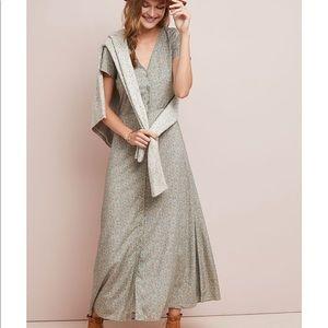 NWT Paris Prairie Buttondown Dress | Anthropologie